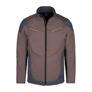 190650-HERO FLEX Softshelljacke-brown/grey