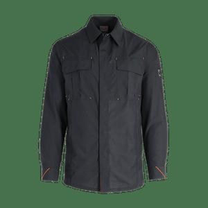 91857-MYCORE FORCE Arbeitshemd 1/1-schwarz