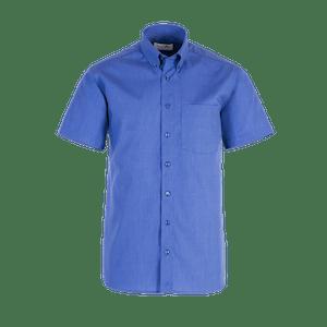 910030-BUSINESS&CASUAL Hemd 1/2-mittelblau