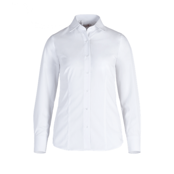 480280-BUSINESS&CASUAL Bluse 1/1-weiß