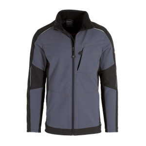 19368-MYCORE FORCE Softshelljacke-stone/black