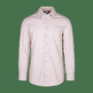910161-CONCEPT Hemd 1/1-sand/weiß gestreift