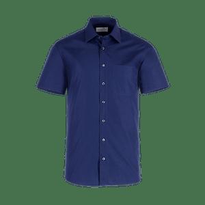 921670-BUSINESS&CASUAL Hemd 1/2-marine