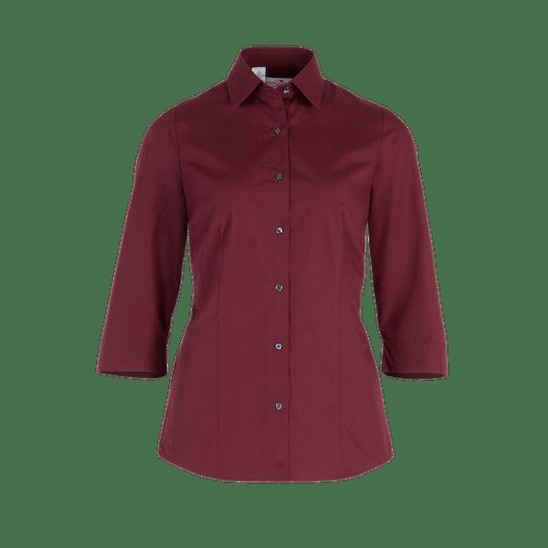 482550-BUSINESS&CASUAL Bluse 3/4-bordeaux