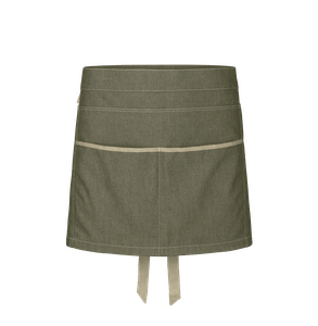 88313-CONCEPT Kurzschürze-denim olive