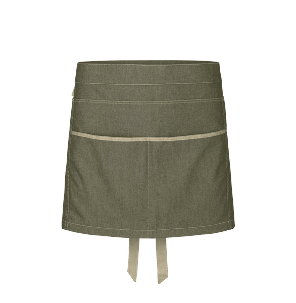 88313-DENIM CRAFT Kurzschürze-denim olive