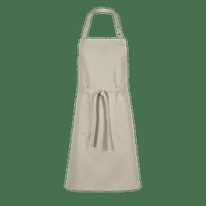 89608-CONCEPT Latzschürze-beige