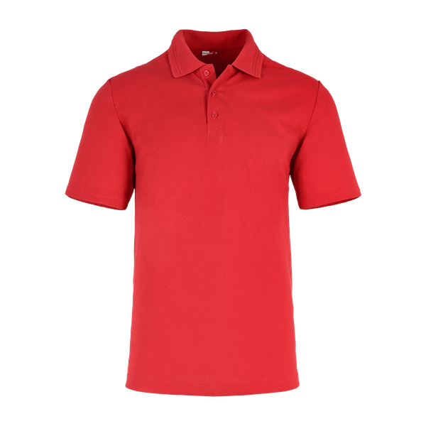 40891-CORE Polo Industry 1/2, Herren-hochrot