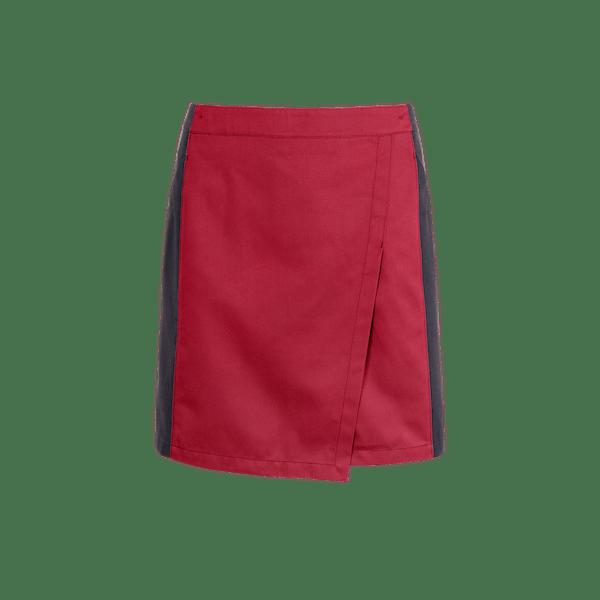 871552-FOCUS Rockschürze, Damen-kaminrot