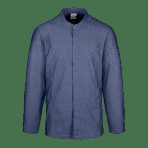 18264-CONCEPT Koch-/Servicejacke 1/1-denim blue