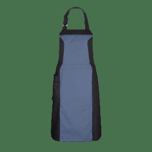 891551-FOCUS Latzschürze-fjordblau