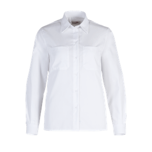 48822-BUSINESS&CASUAL Bluse 1/1-weiß
