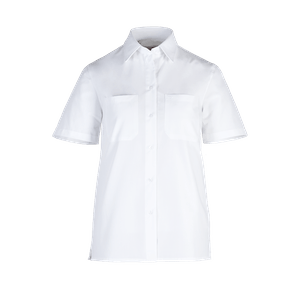 48821-BUSINESS&CASUAL Bluse 1/2-weiß