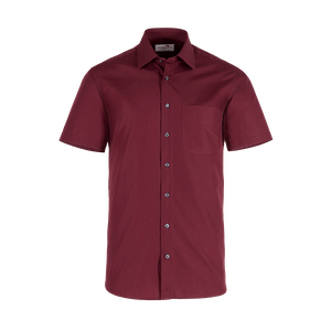 921650-BUSINESS&CASUAL Hemd 1/2-bordeaux