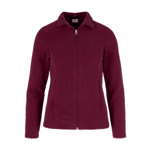 494950-CONCEPT Fleecejacke, Damen-bordeaux