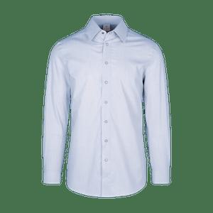 910162-CONCEPT Hemd 1/1-hellblau/weiß gestreift