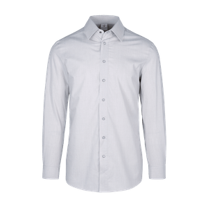 910160-CONCEPT Hemd 1/1, Herren-hellgrau/weiß gestreift