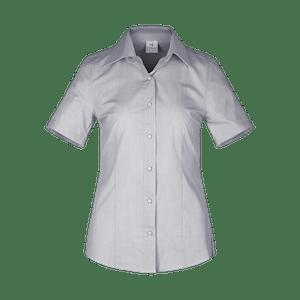 480264-CONCEPT Bluse 1/2, Damen-schwarz/weiß gestreift