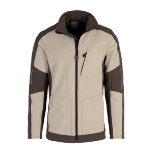 19370-MYCORE FORCE Softshelljacke-desert/brown