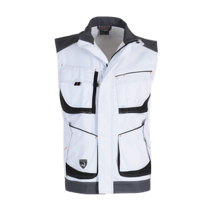 14859-MYCORE FORCE AIR Weste-white/stone