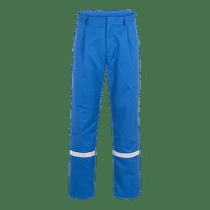 22957-EUROCLEAN Bundhose-royalblau/reflex