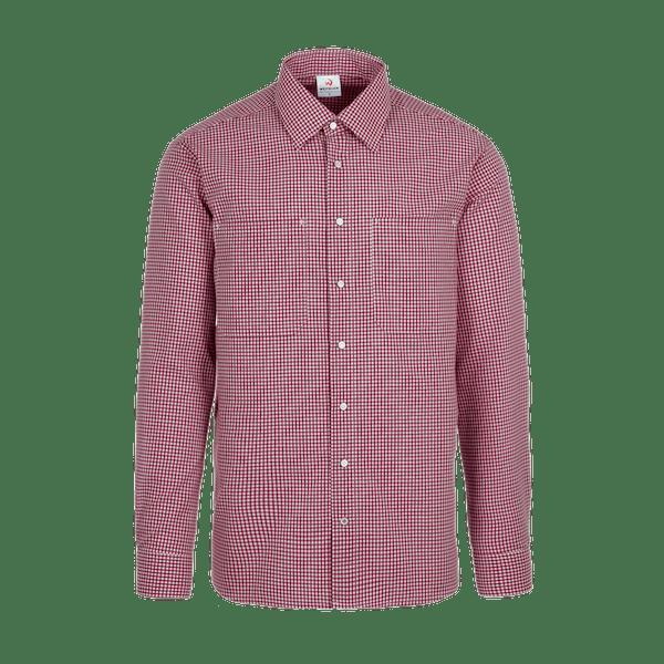 910741-CONCEPT Hemd 1/1, Herren-bordeaux vichy