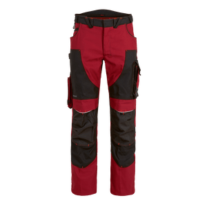 22555-MYCORE FORCE Bundhose m. Kniepolstertaschen-chili/black