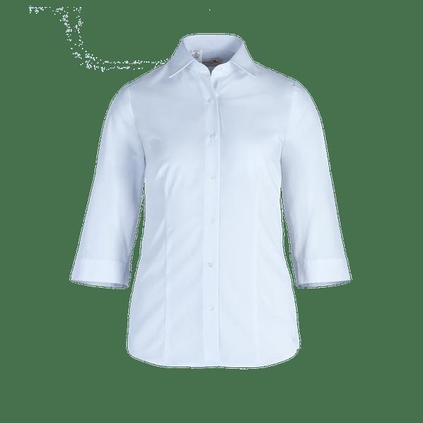 482580-BUSINESS&CASUAL Bluse 3/4-hellblau