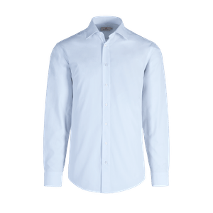 922680-BUSINESS&CASUAL Hemd 1/1, Herren-hellblau