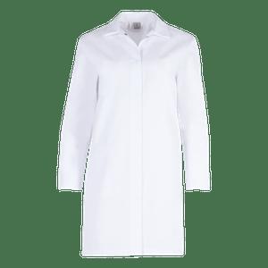 50600-EUROCLEAN BASIC Kasack, Damen-weiß