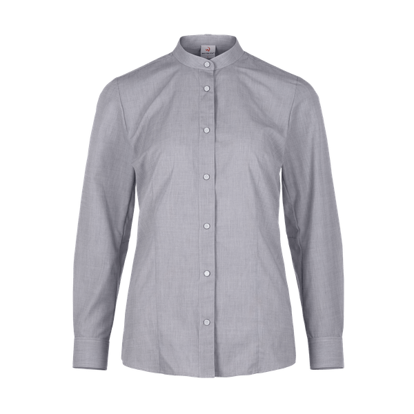480441-CONCEPT Bluse 1/1, Damen-schwarz-melange