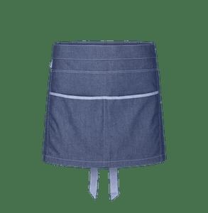 88315-DENIM CRAFT Kurzschürze-denim blue