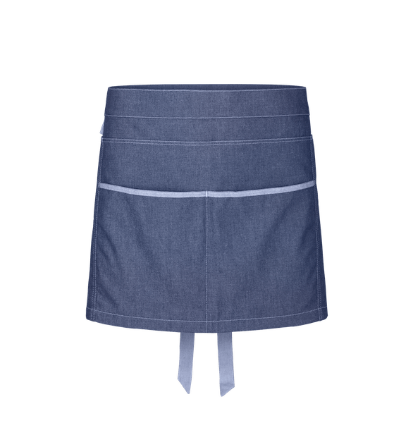 88315-DENIM CRAFT Kurzschürze-denim blue