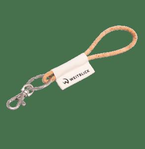 5010-Naturkork Lanyard-braun