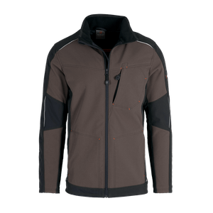 19367-MYCORE FORCE Softshelljacke-terra/black