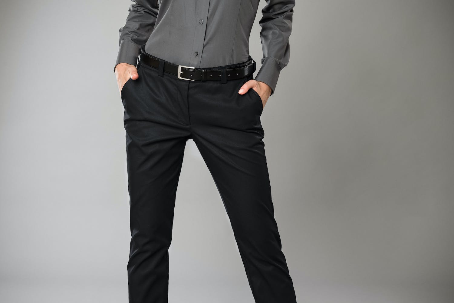 BUSINESS&CASUAL Chino, Damen