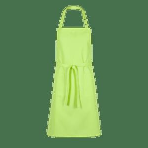 89618-CONCEPT Latzschürze-apfelgrün uni
