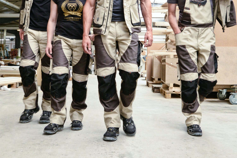 MYCORE FORCE Bundhose mit Kniepolstertaschen