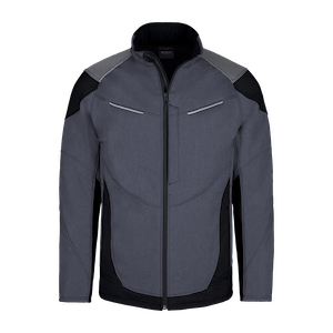 190600-HERO FLEX Softshelljacke-grey/black
