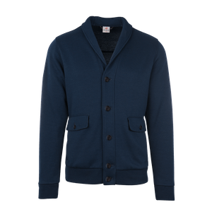 190150-BUSINESS&CASUAL Cardigan, Herren-navy