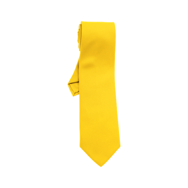 90649-CONCEPT Krawatte-bananengelb