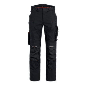 22554-MYCORE FORCE Bundhose m. Kniepolstertaschen-black/black
