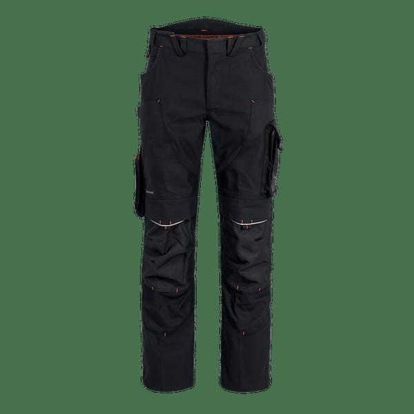 22554-MYCORE FORCE Bundhose m. Kniepolstertaschen-black/black