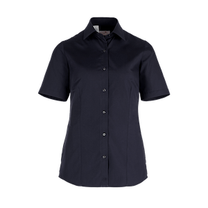 481630-BUSINESS&CASUAL Bluse 1/2-schwarz