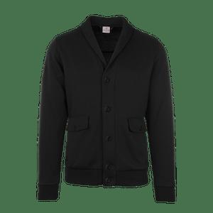 190160-BUSINESS&CASUAL Cardigan, Herren-black