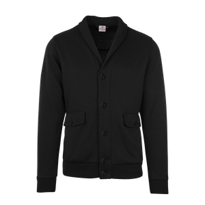 190160-BUSINESS&CASUAL Cardigan, Herren-black