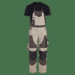 23560-MYCORE FORCE Latzhose mit Kniepolstertaschen-desert/brown