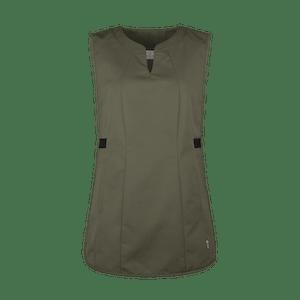 871450-FOCUS Überwurfschürze, Damen-schilfgrün