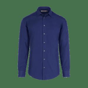 922670-BUSINESS&CASUAL Hemd 1/1, Herren-marine