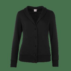 490160-BUSINESS&CASUAL Cardigan, Damen-black